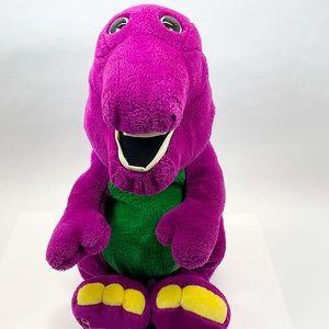 "VINTAGE 1992 BARNEY 18"" Plush Dakin Stuffed Toy"